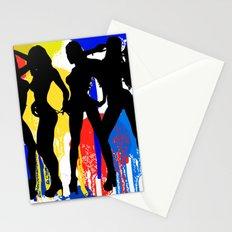 Girls, Girls, Girls Stationery Cards