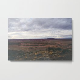 The West Metal Print