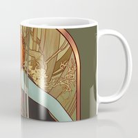 mucha Mugs featuring For the First Time in Forever by Megan Lara