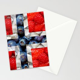 Healthy Norway Flag Stationery Cards