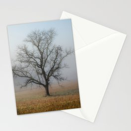 In a Fog - Mystical Morning in the Great Smoky Mountains Stationery Cards