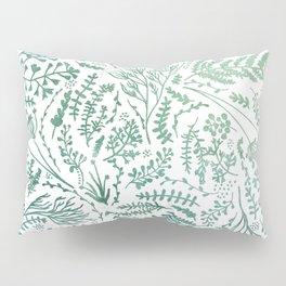 GREEN HERBS Pillow Sham