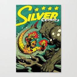 Silver Comics #1, 2004 Canvas Print
