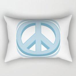 Peace sign Hippie symbol of peace #society6 #decor #buyart #artprint Rectangular Pillow