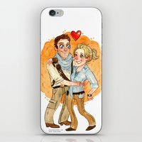 uncharted iPhone & iPod Skins featuring Uncharted 3 HUG by Super Group Hugs
