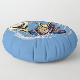 All might Punch Floor Pillow