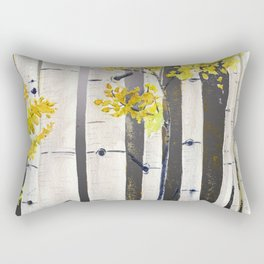 Birch Tree Rectangular Pillow