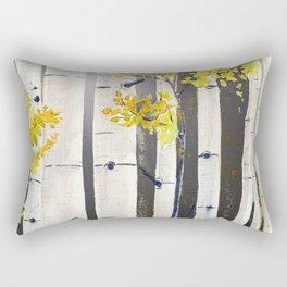 Birch Tree Rectangular Pillow
