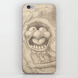 Animal in Pencil iPhone Skin