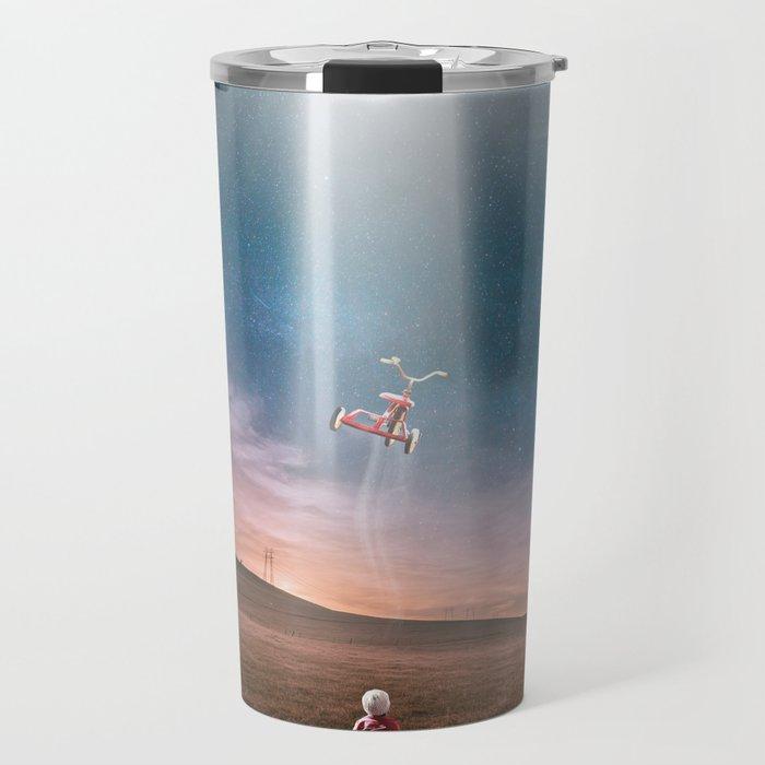 Child and UFO Travel Mug