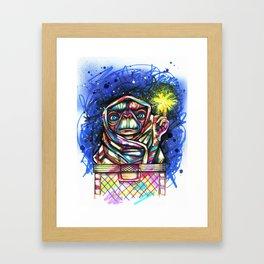 E.T going home Framed Art Print
