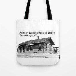 Addison Junction RR, Ticonderoga Tote Bag