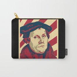 Martin Luther Retro Propaganda Carry-All Pouch