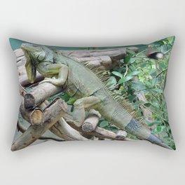 Iggy Iguana at a sanctuary in Thailand Rectangular Pillow