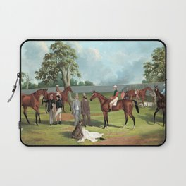 Frederick Woodhouse Group in the Dowling Forest Racecourse Enclosure, Ballarat, 1863 Laptop Sleeve