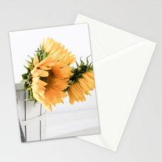 Sunfower Basket Stationery Cards