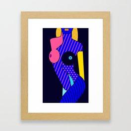 Woman's Body Composition I Framed Art Print