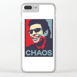 Ian Malcolm 'Chaos' Clear iPhone Case
