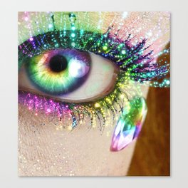 Rainbow Eye Canvas Print