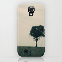 STAND ALONE IN THE WIND iPhone Case