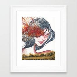 Searing Framed Art Print