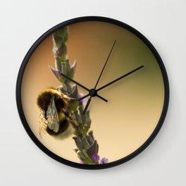 Bee II Wall Clock