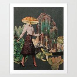 Amanita pantherina Art Print