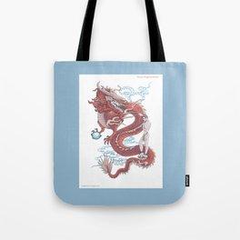 Treasure Dragon Tote Bag