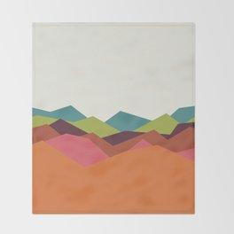Chevron Mountain Throw Blanket