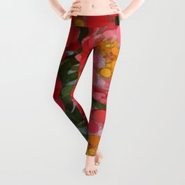 Pink Tulips On Parade! Leggings