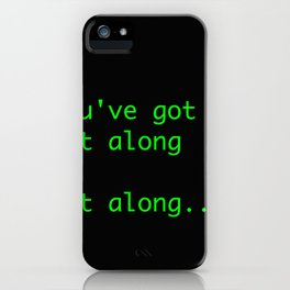 git along iPhone Case