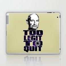 Locke is Too Legit to Quit Laptop & iPad Skin