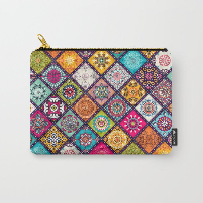 bohemian pattern Carry-All Pouch