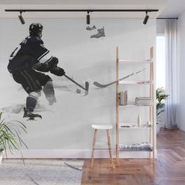 The Deke - Hockey Player Wall Mural
