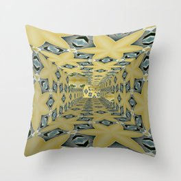 Basically Yellow Room 14 Throw Pillow
