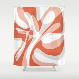Coral Wave Shower Curtain