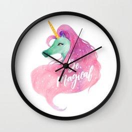 BE MAGICAL (UNICORN) Wall Clock