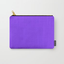 Cheap Solid Deep Aztec Purple Color Carry-All Pouch