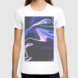 Tell Me - Marbling Pattern T-shirt