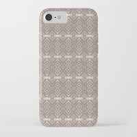 reassurance iPhone & iPod Cases featuring Wood print II by Magdalena Hristova