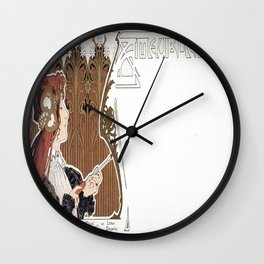 Vintage poster - Ameublement Wall Clock