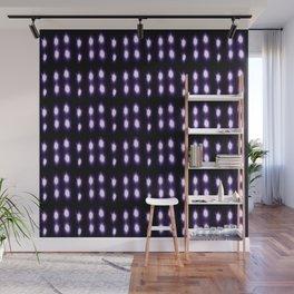 Purple and blue polka dot Wall Mural