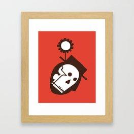 """""""Man With Flower In Hat"""" or """"Soil"""" Framed Art Print"""