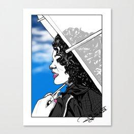 A Sky Full of Jasmine Canvas Print