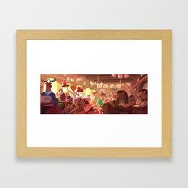 Stockholm Blend Framed Art Print