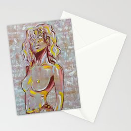 Red Swimsuit Stationery Cards