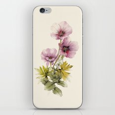 Geranium & Gardenmint iPhone & iPod Skin