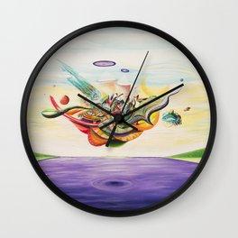 Ocular Sounds Wall Clock