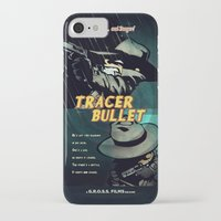 hobbes iPhone & iPod Cases featuring Calvin & Hobbes: Tracer Bullet Film Noir by Gallery 94