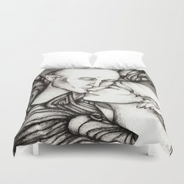 Wolf and Hart Duvet Cover